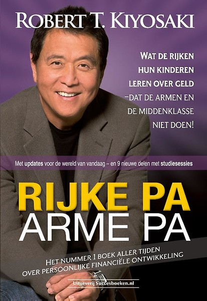 Boek: Rijke Pa, Arme Pa door Robert Kiyosaki